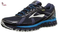 Brooks - Adrenaline Asr 12 Gtx - , homme, multicolore (peacoat/atomic blue/black), taille 45 - Chaussures brooks (*Partner-Link)