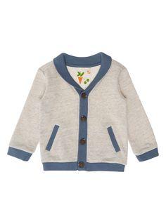 Baby Boys Blue Sweatshirt Cardigan (0-24 months) | Tu clothing £6