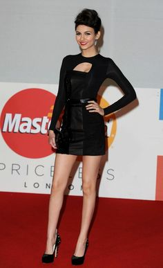 A touch of leather: Victoria Justice