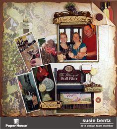 Bull Run Winery  **Paper House** - Scrapbook.com