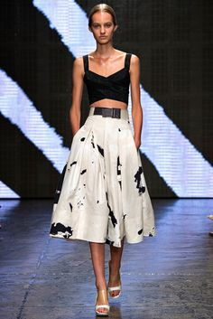 Donna Karan Spring 2015 Ready-to-Wear - Collection - Gallery - Look 1 - Style.com