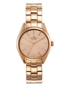 kate spade - Women's Rose-Gold Seaport Watch