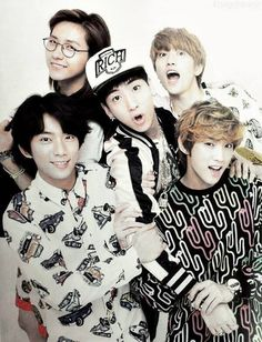 B1A4 ❤ they are so comic- especially Sandeul and Baro XD!!! Certainly the funniest kpop group ever!!! Love them!! ^^