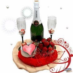 Strawberries and Cream Basket to Kyrgyzstan - Ukraine Flowers Delivery Chocolate Covered Strawberries, Strawberries And Cream, Good Morning My Sweetheart, Wine Bottle Images, Funeral Wishes, Champagne Breakfast, Dessert Platter, Love You Gif, Congratulations Gift