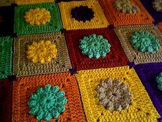 Skill Level: Intermediate crochet blanket.