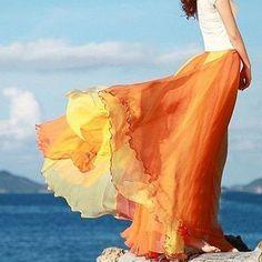 Bohemia style skirt