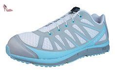 Salomon KALALAU W Chaussures de Running Femme Gris Bleu SALOMON T:36 - Chaussures salomon (*Partner-Link)