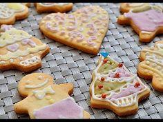 糖霜餅乾。icing cookies