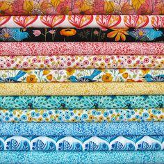 Alegria by Geninne by Michelle Engel Bencsko | Cloud9 Fabrics, via Flickr