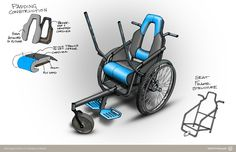 Leveraged Freedom Chair: wheelchairs for rough terrain #wdip 2013-14 nominee #socialdesign. accessible, mobility, affordable, co-design, bicycles, push levers