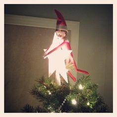 Elf on the Shelf: Star catcher.