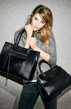 Want both of these Rebecca Minkoff handbags. So perfect for fall!