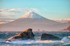 【画像】「海から見る富士山が最高に美しい」 凄すぎワロタ、壁紙にしたwwwwwwwwwwwww
