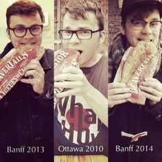 We LOVE this timeline of one fan's love of our pastries! Instagram photo by @Jasper Van Verdegem (Jasper-28-Belgian)