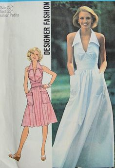 Simplicity 7431 Vintage 70s Sewing Pattern by WEAREVINTAGESEWING, $14.00
