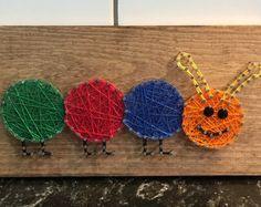 Caterpillar String Art