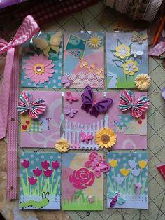 ** Spring Easter ATC  Pocket Letters