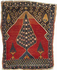 Anatolian prayer rug.