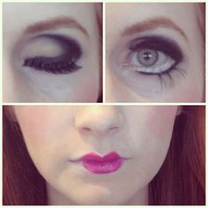 step by step Porcelain Doll makeup tutorial #Halloween #costumes