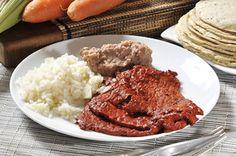 Carne enchilada | Cocina y Comparte | Recetas de @cocinaalnatural