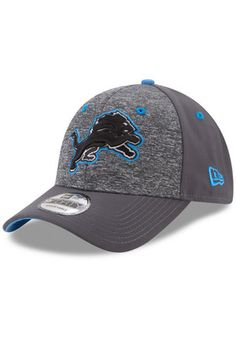 c60379b75a3 New Era Detroit Lions Grey League Shadow 2 Kids Adjustable Hat