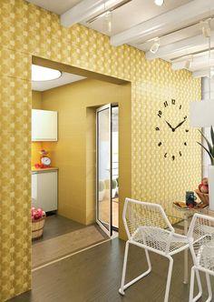 Product: #wall #tile CALEIDOSCOPIO, setting: #kitchen