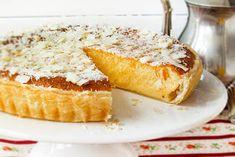 Alquimia dos Tachos: Tarte de Coco simples Pie Recipes, Sweet Recipes, Dessert Recipes, Cooking Recipes, Recipies, Food Cakes, Keep Recipe, Coconut Desserts, Cheesecakes