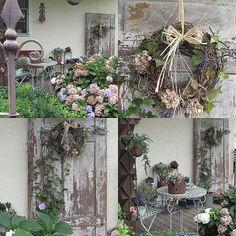 Alte Tür - Wohnen und Garten Foto