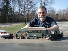 The brilliant talent of Mr. Michael Paul Smith. Photographer, craftsman, ARTIST! He built the trailer in this photo from scratch, complete finished interior!