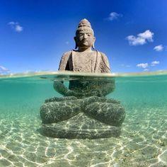 Bora Bora Buddha by Tim McKenna Photography