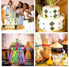 Mesob cake Ethiopian Wedding Dress, Ethiopian Dress, Habesha Kemis, Eritrean, Africa Cake, African Wedding Cakes, Multicultural Wedding, 60th Birthday, Traditional Dresses