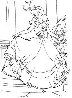 Coloring Pages Adult Bb Mondo Cinderella Beast Mandala Black People Princesses