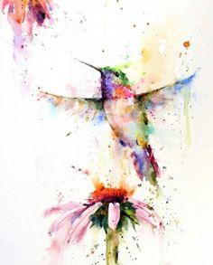 Art humming bird