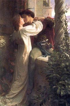 Romeo and Juliet by Sir Frank Dicksee :: Sir Frank Dicksee :: 21-0044 ...