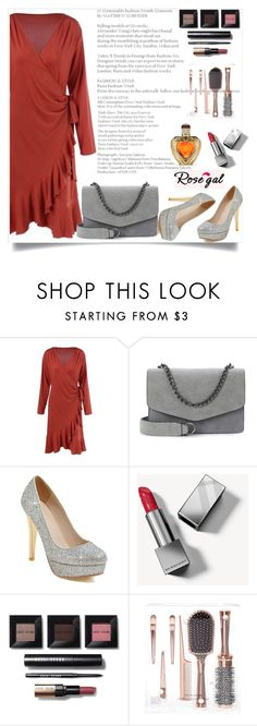 """""""Rosegal"""" by nejra-l ❤ liked on Polyvore featuring Burberry, Bobbi Brown Cosmetics and Victoria's Secret"""