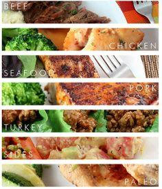 Recipe Index #paleo #grainfree #lowcarb #glutenfree