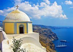 Santorini, Greece  www.exoticdestinations.com.au