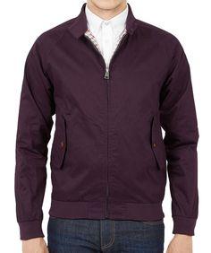 Ben Sherman Harrington Jacket Grape: 115€ http://www.seriebshop.com/producto/ben-sherman-disenadores/ben-sherman-harrington-jacket-grape/