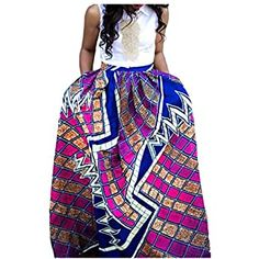 Panier African Print Clothing, Style Casual, Womens Fashion, Skirts, Stuff To Buy, Clothes, Amazon, African Women, Fashion Ideas