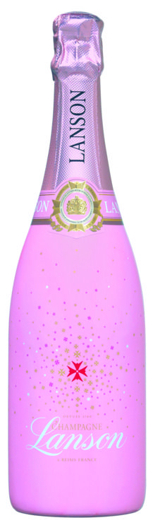 Lanson champagne pink - a reason to celebrate in itself ;)