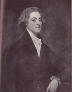 John Pitt, 2nd Earl of Chatham, by George Romney, scanned from 'House of Pitt' by Sir Tresham Lever (1947). This is the portrait on which Jacqui Reiter's excellent drawing is based (http://pinterest.com/pin/41236152808369651). It hangs, or used to hang, at Chevening, formerly the home of William Pitt's biographer Earl Stanhope.