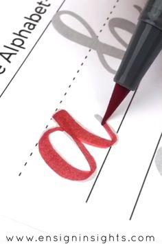 E-BOOK Hand Lettering for Beginners Workbook, Learn hand lettering, brush lettering practice sheets - Bullet Journal Brush Pen Lettering, Hand Lettering Tutorial, Hand Lettering Alphabet, Brush Lettering Worksheet, Brush Pen Calligraphy, Caligraphy Alphabet, Calligraphy Letters, Modern Calligraphy, Penmanship