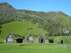 icelandic turf houses. i want one.