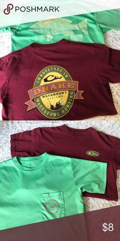 Youth boys shirt bundle 10/12 Drake Southern Marsh Size medium 10/12 youth shirts by Drake and Southern Marsh Drakes Shirts & Tops Tees - Short Sleeve