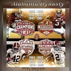 Alabama Dynasty #alabamafootball