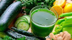 BEBER ESTO ANTES DE IR A DORMIR QUEMA LA GRASA DEL VIENTRE COMO LOCO -Ingredientes: .1 pepino .1 limón .un ramo de perejil .1 cucharada de jengibre rallado .1/3 taza de agua Tomar antes de ir a dormir