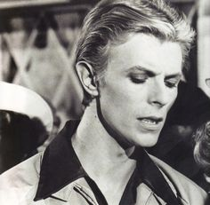 #Mr. Bowie #he did a pretty #70s