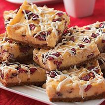 White Chocolate Cranberry Cream Cheese Bars @Philadelphia Cream Cheese make for an amazing holiday dessert.  #cheesecakecheer (cupcakes for boys cream cheese frosting)