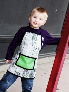 Tutorial little apron / tablier pour enfant