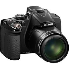 Nikon COOLPIX P530 16.1 MP CMOS Digital Camera with 42x Zoom NIKKOR Lens and Full HD 1080p Video (Black) International Version (No warranty)